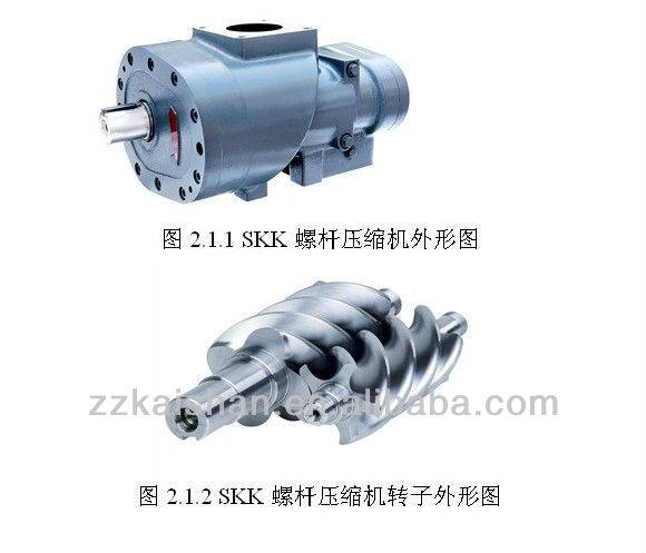 Kaishan Brand --- Screw Compressor Head
